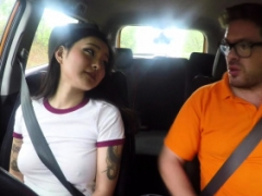 Fake Driving School Sexy Japanese Rae Lil Black