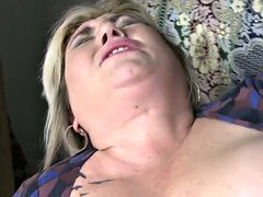 Grown-up BBW mom having sex with lucky son
