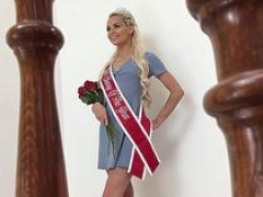 Undersized Young Blonde Babe Elsa Jean Tells Completely all As Our Cherry Of The Year