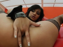Angel Pink gets rectal sex Immaculate Gonzo style by Tush Tr