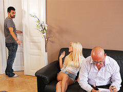 DADDY4K. Milf guy embarks spontaneous copulation with...