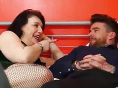 Luke Hotrod makes love mature pal Sabrina