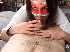 princess Poppy luvs to Swallow Cum - POV oral job