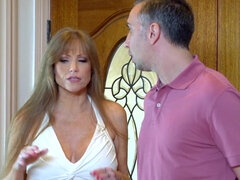 Cougar Darla Crane gets pussy and ass fucked by her daughter's boyfriend