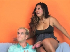 Babes shag lovers asshole with gigantic strapons and blast j