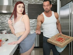 Danni Rivers fucks step daddy while mommy is out