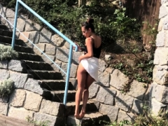 Entirely Clothed Taking a leak In My Back Garden - Lexi Dona