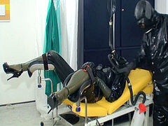 Gas mask powerful rubber medical enema
