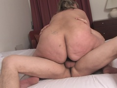 This big blonde mama loves to get fucked hard and long