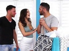 LANA RHOADES 3some - CHEATS & Makes love 2 Lads