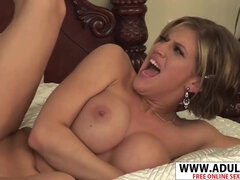 Big fun bags StepMother Eve Laurence Gives Suck Off Well Naughty Step son