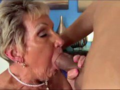shirley, granny who loves blow off