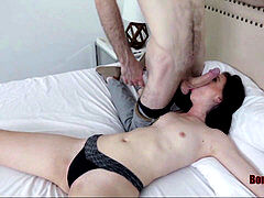 Wife's bounty is a obedient slut- Bambi dark-hued