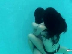 Catfight Underwater