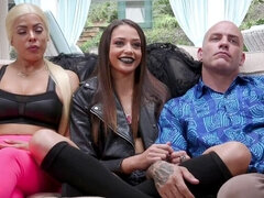 Teen Goth Sex Witch Transforms Her Parents Into Anal Sex Monsters