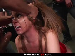 Chloe gets brutally group-fucked