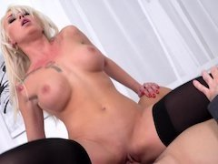 Double penetration sex is all that Christina Shine wants