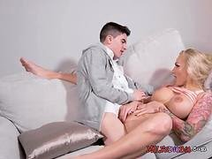 Breasty Stepmom Kayla Green Gets Humped By Stepson
