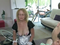 Immature Guy Sticky creampies Maid