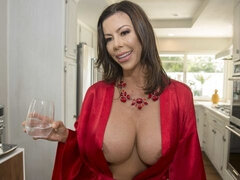 Busty MILF Alexis Fawx shows her amazing skills in the bed