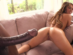 BBC pounds the asshole of slutty chick Aleska Diamond