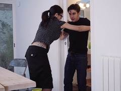Explicit Shades - Deluxe Spanish sex romp with hot pretentious brunette kitten Julia De Lucia