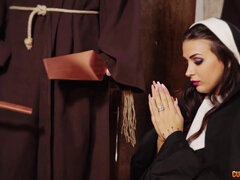 Nun Of The Dicks - Susy Gala Gangbang